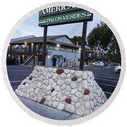 Americana Round Beach Towel