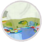 Another Place Round Beach Towel
