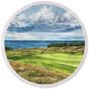 Arcadia Bluffs Round Beach Towel