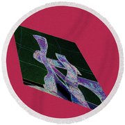 Art In Forms Round Beach Towel