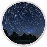 Astroscapes 0 Round Beach Towel