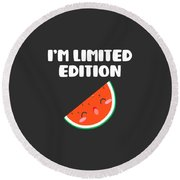 Awesome Im Limited Edition Round Beach Towel