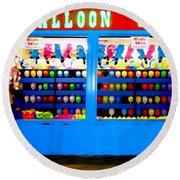 Balloon Pop Round Beach Towel