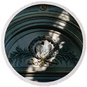 Basilica Of Santa Sabina Round Beach Towel