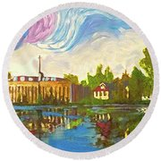 Bayou Saint John One Round Beach Towel