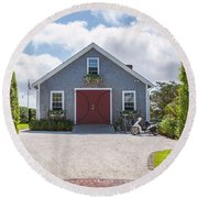 Beach House Round Beach Towel