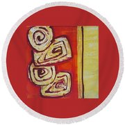 Beguiled Round Beach Towel