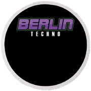 Berlin Techno Music Techno Station Travel Music Lovers Edm Electronic Dance  Gift by Thomas Larch