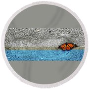 Bigfoot 'n Butty Round Beach Towel