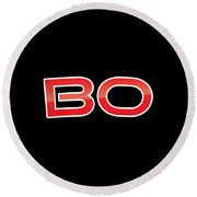 Bo Round Beach Towel