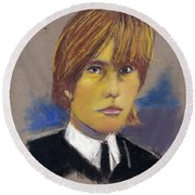Brian Jones Round Beach Towel