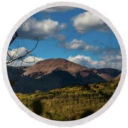 By The Power Of Graysill Round Beach Towel