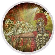 Caesar Round Beach Towel