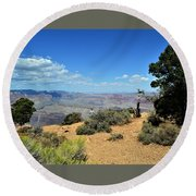 Canyon Color Round Beach Towel