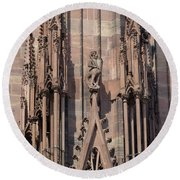 Cathedral Chimera Round Beach Towel