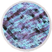 Cautious 2 Round Beach Towel