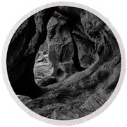 Cavern Of Lost Souls Round Beach Towel