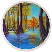 Chicot Round Beach Towel