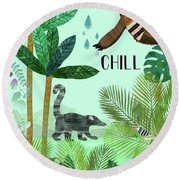 Chill Round Beach Towel