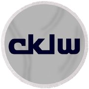 Cklw Mid-70's Logo Round Beach Towel