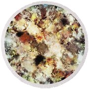 Cleave Round Beach Towel