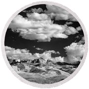 Colorado Valley II Round Beach Towel