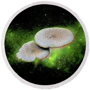 Combination Space Round Beach Towel