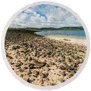 Coral Beach, Skye Round Beach Towel