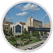 Covenant Medical Center Round Beach Towel