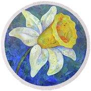 Daffodil Festival I Round Beach Towel