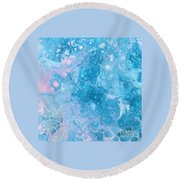 Dawn Reflections Round Beach Towel