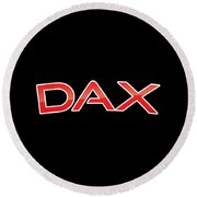 Dax Round Beach Towel