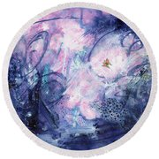 Day Fifty-two - Dreamscape Round Beach Towel