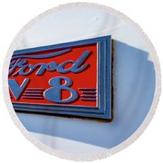 Deco Logo Round Beach Towel
