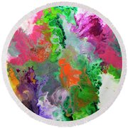 Delicate Canvas Two Round Beach Towel
