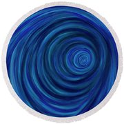Dive Deep Round Beach Towel