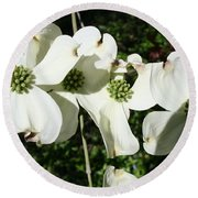 Dogwood V 2019 Round Beach Towel