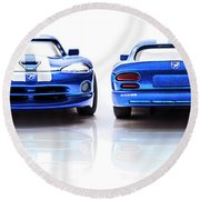 Double The Sting Round Beach Towel
