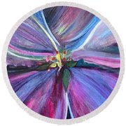 Eden Round Beach Towel