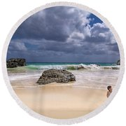 Endless Summers Round Beach Towel