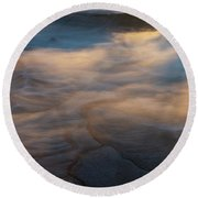 Ethereal Round Beach Towel by Dustin LeFevre