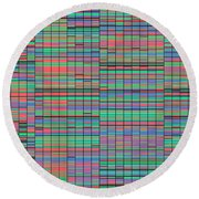 F021/2091 Round Beach Towel