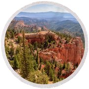 Farview Point - Bryce Canyon - Utah Round Beach Towel