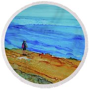 Finding Cape Fear Round Beach Towel