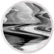 Flight Of Fancy  Round Beach Towel by Gerlinde Keating - Galleria GK