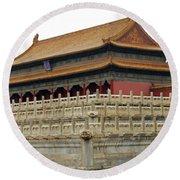 Forbidden City 60 Round Beach Towel