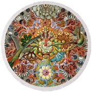 Forms Of Nature #1 Round Beach Towel