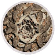 Forms Of Nature #16 Round Beach Towel
