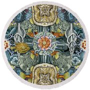 Forms Of Nature #6 Round Beach Towel
