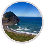 Frankport Round Beach Towel